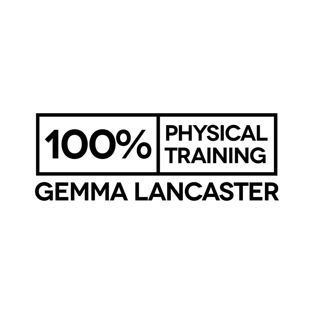 100% Physical Training Logo white